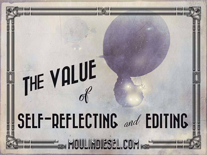 "blog image for ""the value of self-reflecting and editing"" post"