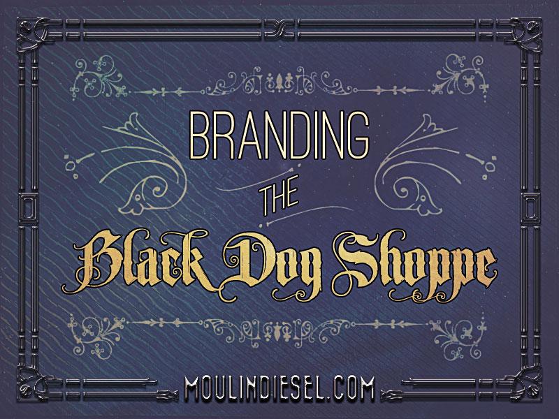 """blog image for """"branding the black dog shoppe"""" post"""