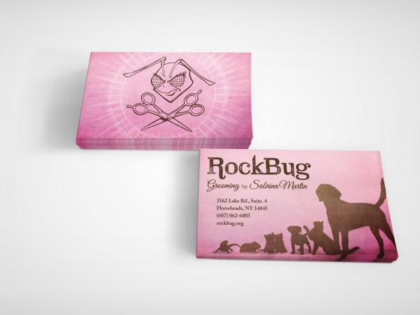 RockBug business card