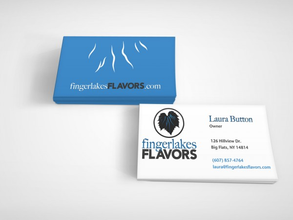 Fingerlakes Flavors business card