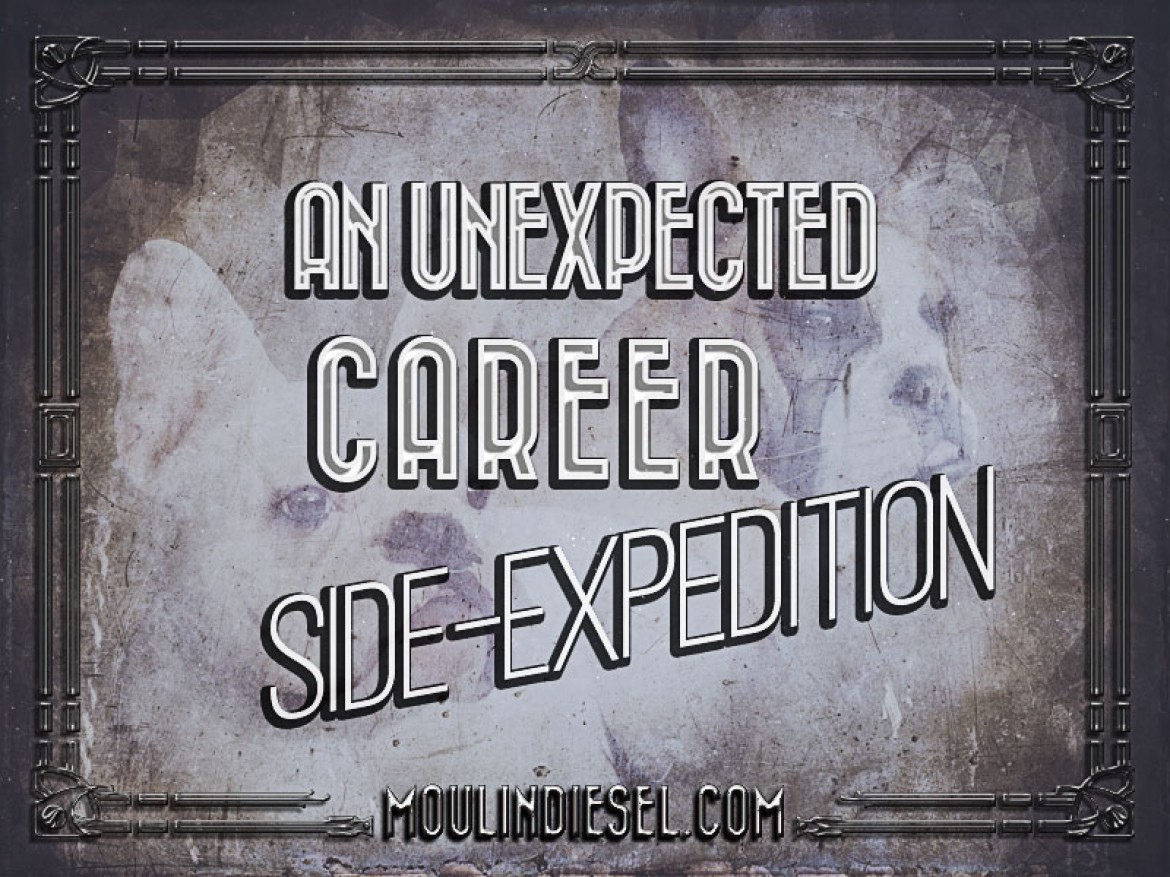 An Unexpected Career Side-Expedition