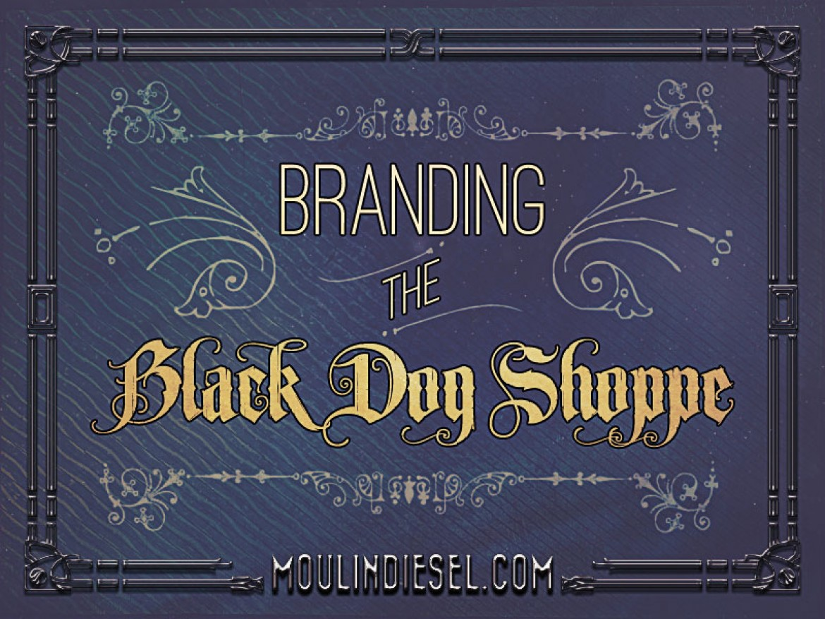 Branding the Black Dog Shoppe