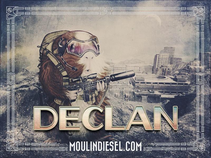 New Piece: Declan