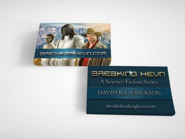 David R.L. Erickson Business Card